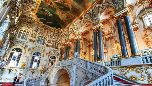 THE HERMITAGE & FABERGE MUSEUM